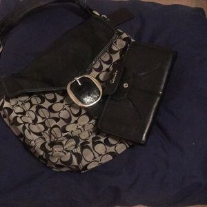 Handbags - Coach purse and wallet as a bundle !